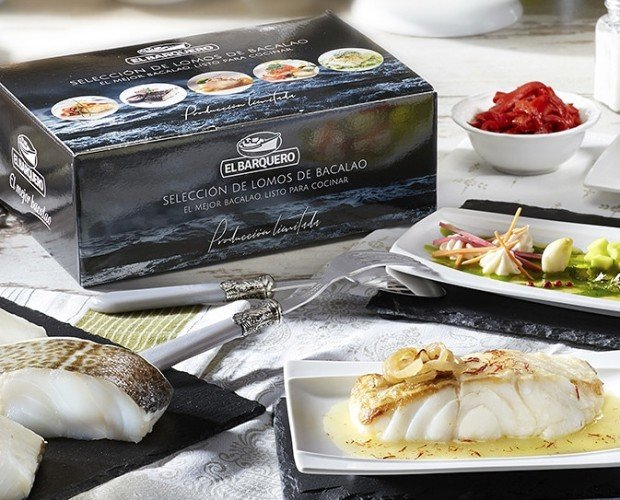 Bacalao gourmet. Delicia marina