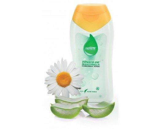 Exfoliantes Faciales Naturales.Contiene extracto de Manzanilla y Aloe Vera. No contiene alcohol.