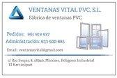 Ventanas Vital PVC