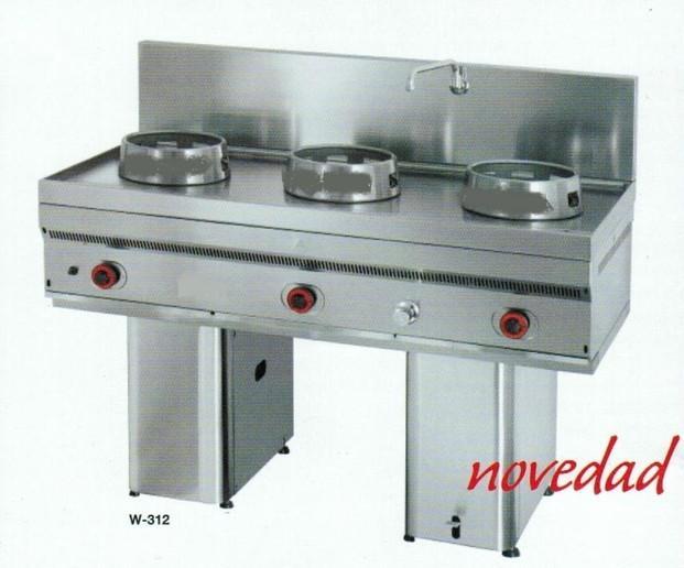 Cocinas Wok. Modelo W-312
