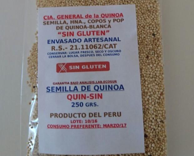 Cereales.Granos de Quinoa