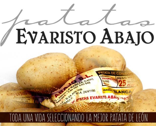 Patatas. La mejor patata de León