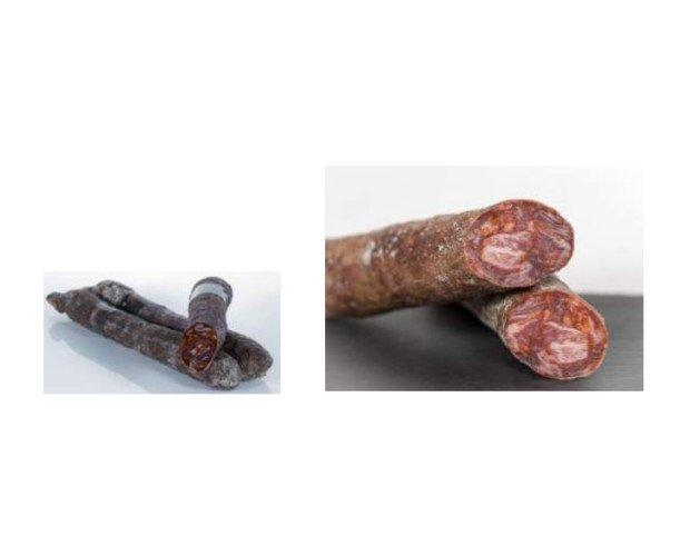 Chorizos Ibéricos. Chorizo Ibérico Cular Erasma y Chorizo Cular Bellota