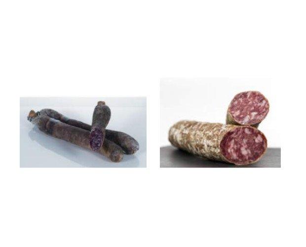 Salchichones. Salchichón Cular Bellota y Salchichon Cular Bellota