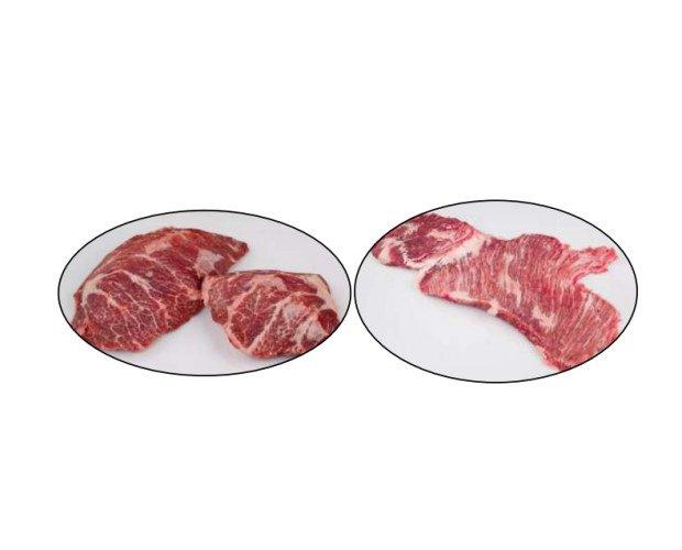 Carne de Cerdo. Presa y secreto ibérico