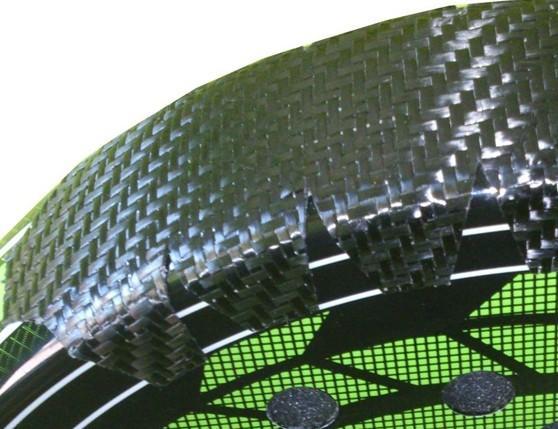 Raquetas.Protector padel 100% Carbono Talla XL