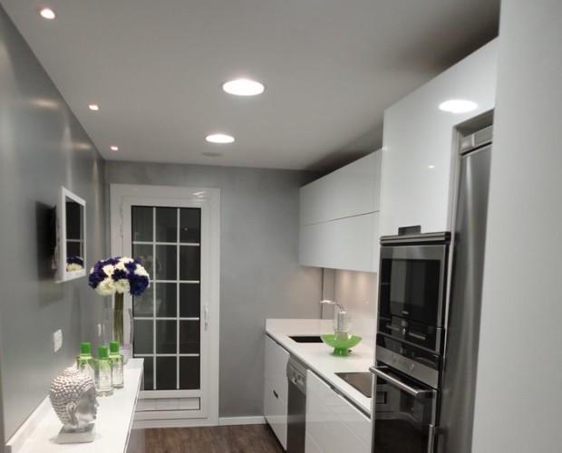 Downlight cocina. Una luz blanca increible