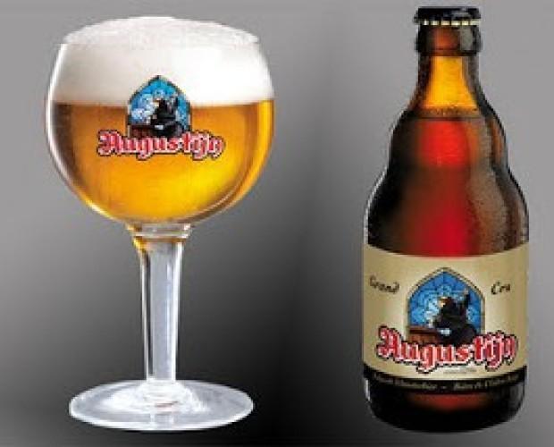 Augustijn Grand Cru. Cerveza de abadía, tipo tripel, 9 % de alcohol