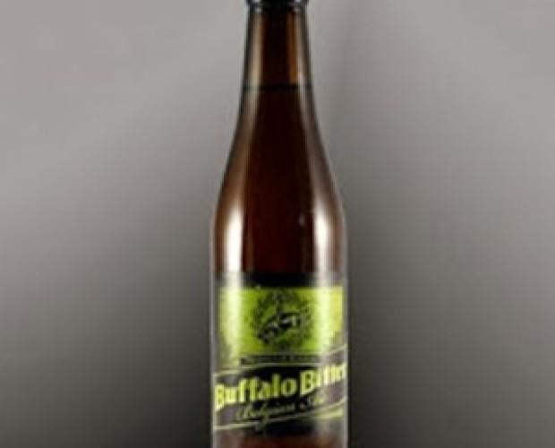 Buffalo Bitter. Cerveza belga de inspiración inglesa, 8% de alcohol