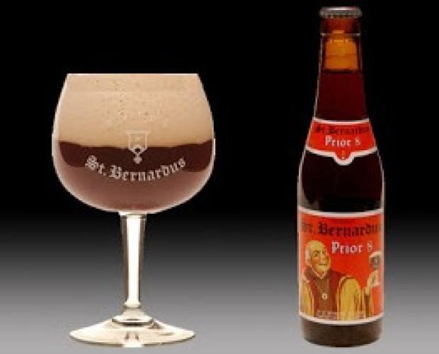 St Bernardus Prior 8. Cerveza de abadía, 8% de alcohol