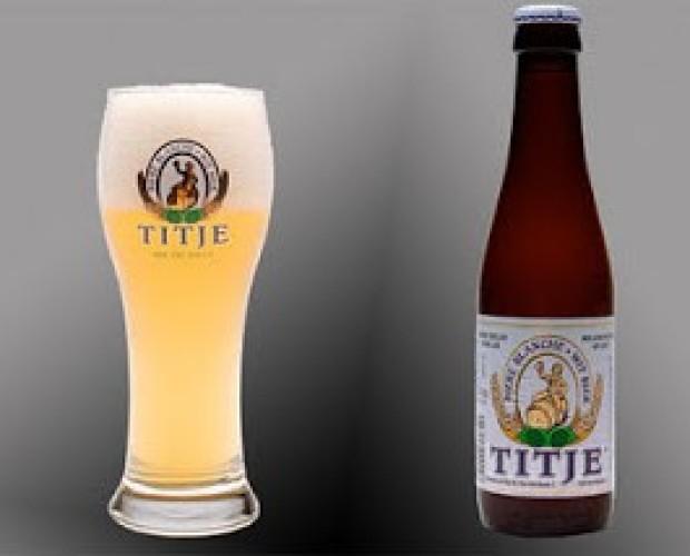 Titje Blanche. Cerveza de trigo belga, de 4,7% de alcohol