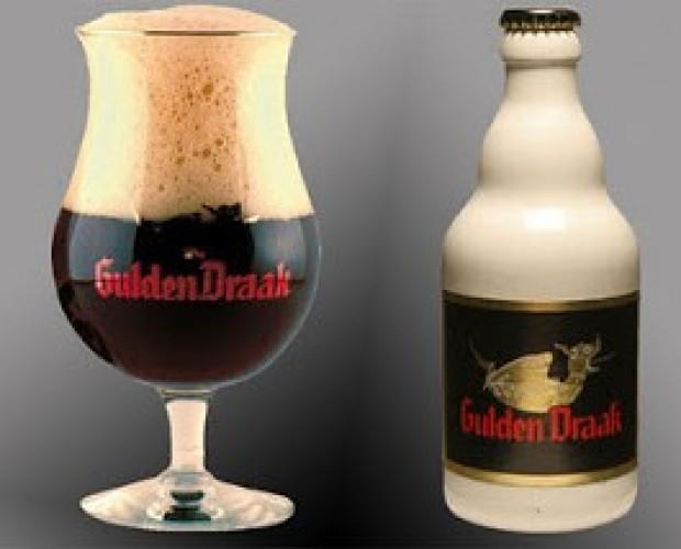 Gulden Draak. Cerveza especial belga, de 10,5% de alcohol