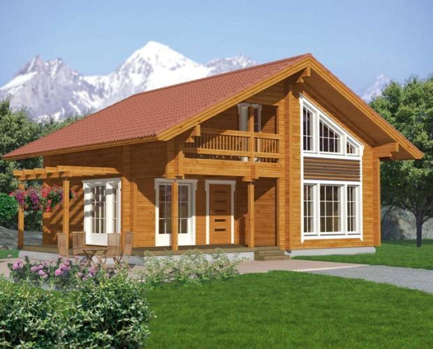 Im genes de madereco casas de madera ecol gicas Casas modernas precio construccion