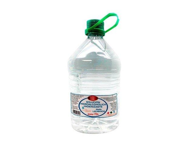 Gel Desinfectante. Solución hidroalcohólica higienizante 70% para manos