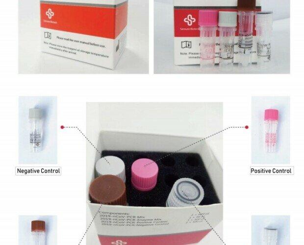 Test Covid-19.Kit de diagnóstico de ácido nucleico Covid-19