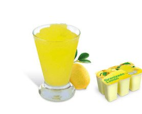 Granizado de limón. Ideal para el verano