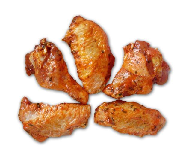 Alas rancheras. Alas de pollo frescas y adobadas