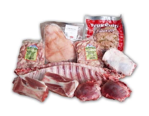 Productos para rostisserías. Gran de carne de aves