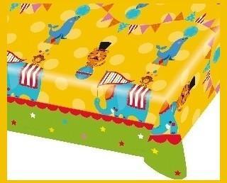 Mantel Fisher Price Circus. De gran colorido. Medidas: 1,2 x 1,8 m.