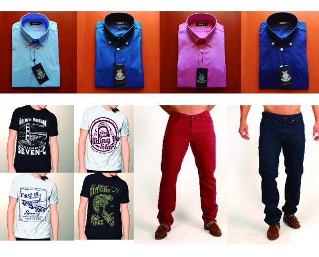 Fabricación de Ropa.Línea moda masculina.