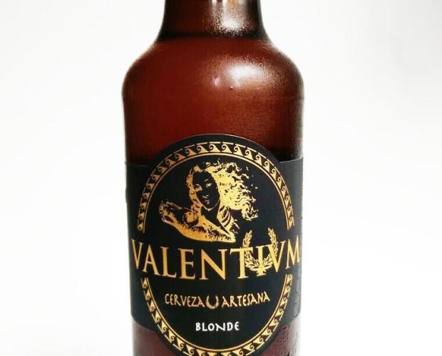 Valentivm Blonde Ale. Rubia de tonos dorados y cuerpo ligero