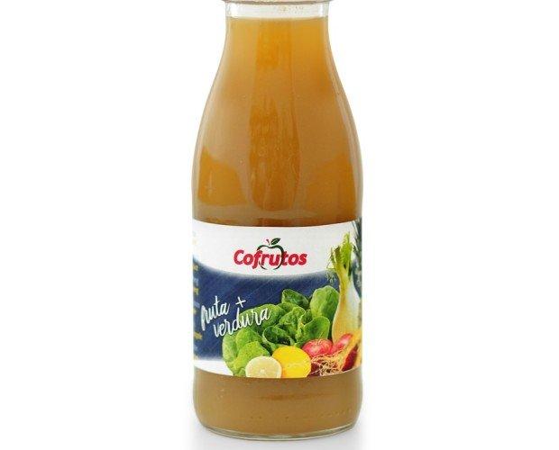 Zumo frutas + verduras. Con las mejores hortalizas frescas