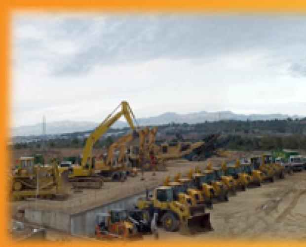 alquiler de máquinas para construcción. alquiler de excavadoras