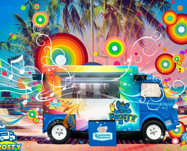 Eventos con Frosty. Alquiler de la FrostyTruck para ofrecer granizados
