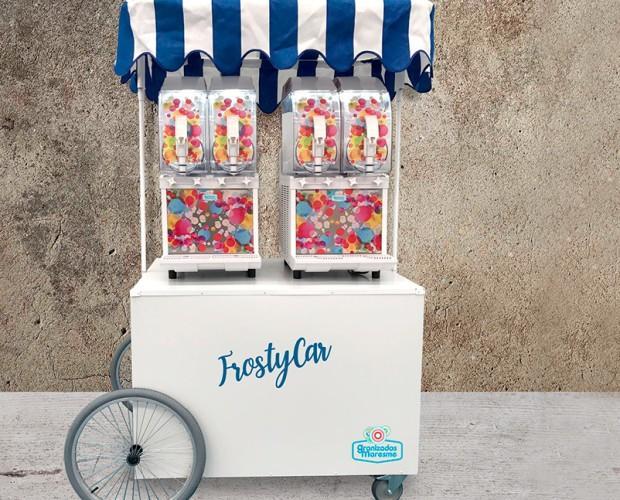 Eventos con Frosty. FrostyCar, ideal para eventos con granizados