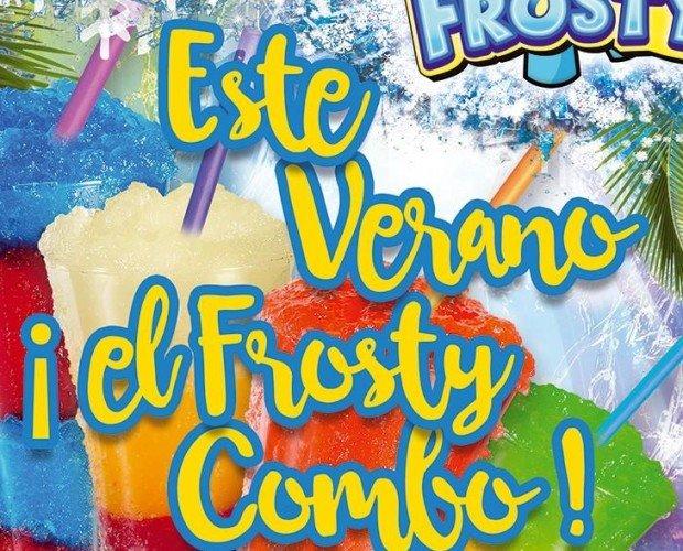 Frosty Combo. Frosty granizados, combinaciones de sabores
