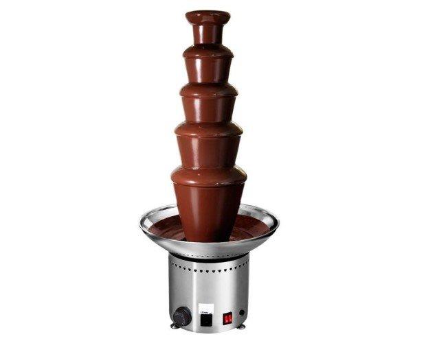 Fuente de Chocolate. Fuente profesional, efecto cascada, 150-200 comensales