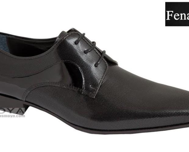 Zapato negro. Zapato muy elegante