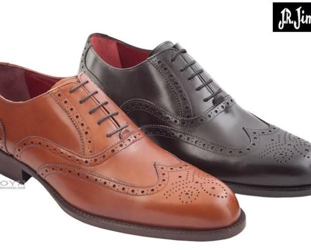 Zapatos todo en piel. Zapato de Almansa todo piel, forro y planta de piel.