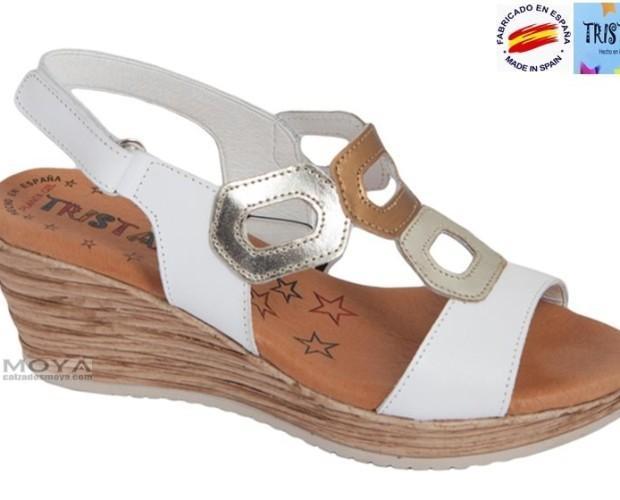 Sandalia de Cuña de 6 cm. Sandalias muy confortables