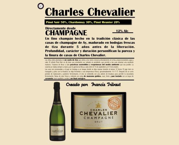 Champagne.Champagne Charles Chevalier
