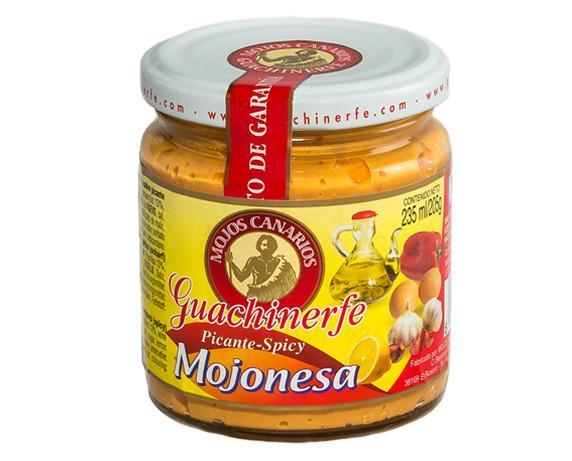Mojonesa® Guachinerf. Elaborado con pimiento fresco local. SIN GLUTEN