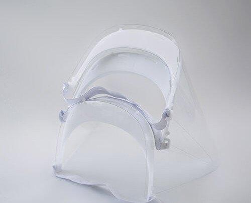 Pantalla Facial Protectora. Fácil de limpiar, se puede reutilizar luego de una buena limpieza