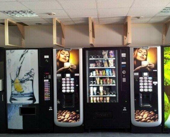 Maquinas Vending Millana. Instalción de maquinas vending. Vending cafe, snack, refrescos y fuentes de agua.