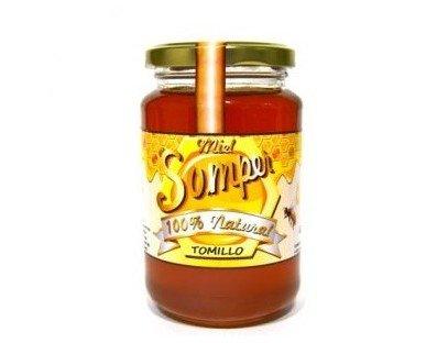 Miel tomillo. Ideal para los resfriados