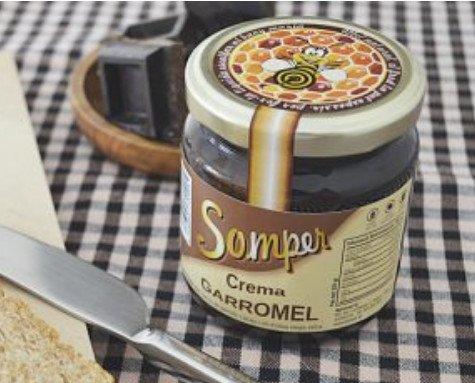 Crema garromel. Delicioso sabor