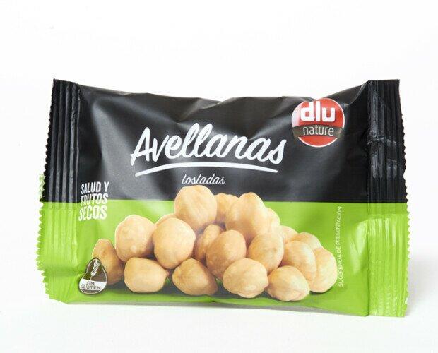 Avellanas Tostadas. Avellanas tostadas en bolsa de 75 gr.