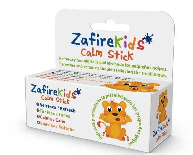 Zafire Kids Calm Stick. Es un bálsamo en barrita con una acción reconfortante para los más pequeños