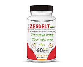 ZESBELT Vcaps. Complemento alimenticio a base de extractos vegetales, que ayuda a controlar el peso.