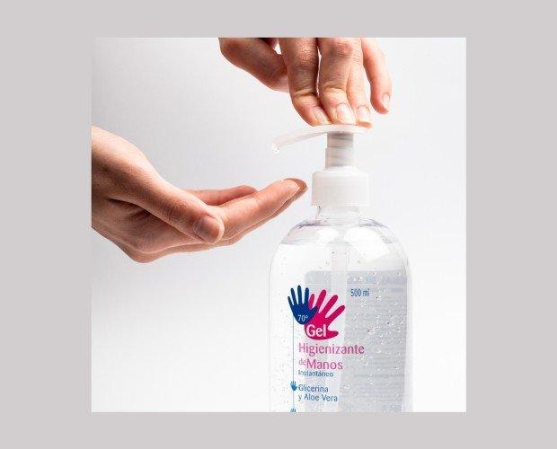 Gel Desinfectante. Gran efectividad para la prevención del COVID-19