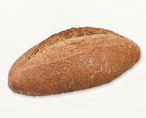 Hogaza Integral Grano Entero. Los panes integrales artesanos tienen un alto contenido en fibra