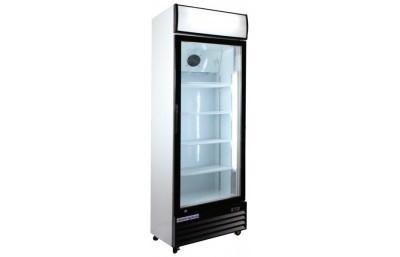 Vitrinas refrigeradas. Verticales, con puerta de cristal