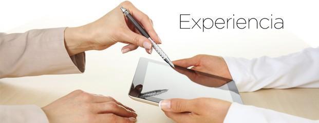 Experiencia. Peritos judiciales con amplia experiencia