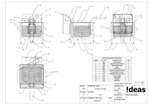 Ingeniería Industrial.Planimetría 2D