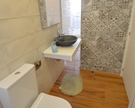 Diseño baño. Reforma integral ático Torrevieja