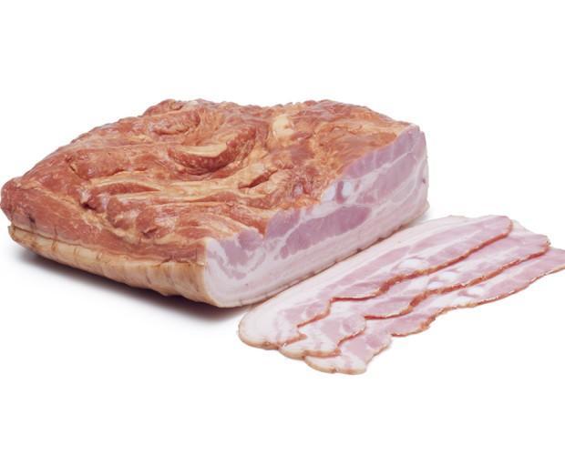Bacon ahumado. Bacon ahumado de alta calidad